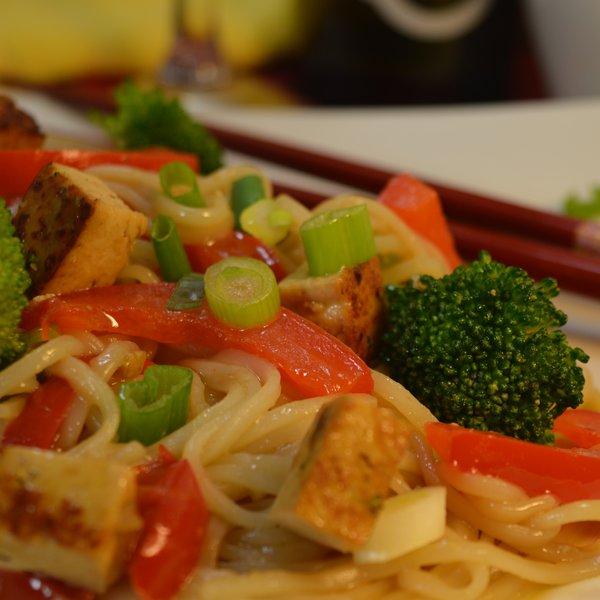 Sauté asiatique végétarien